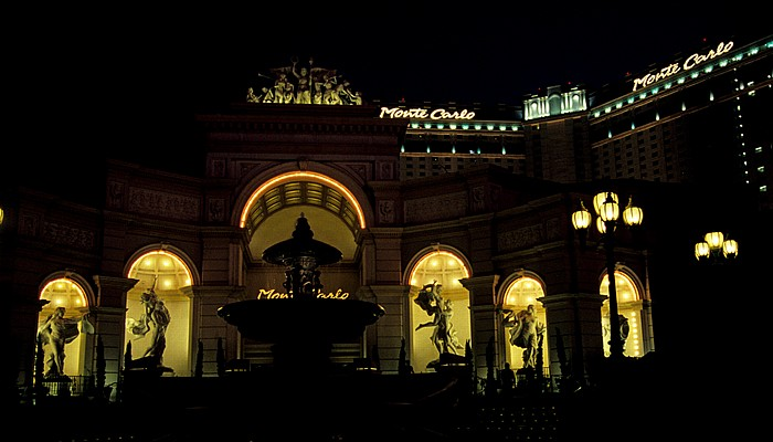 Las Vegas Strip: Monte Carlo Resort
