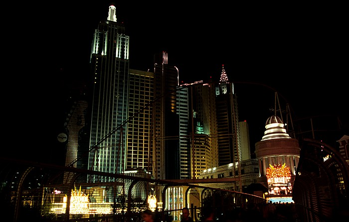 Las Vegas Strip: New York-New York Hotel & Casino