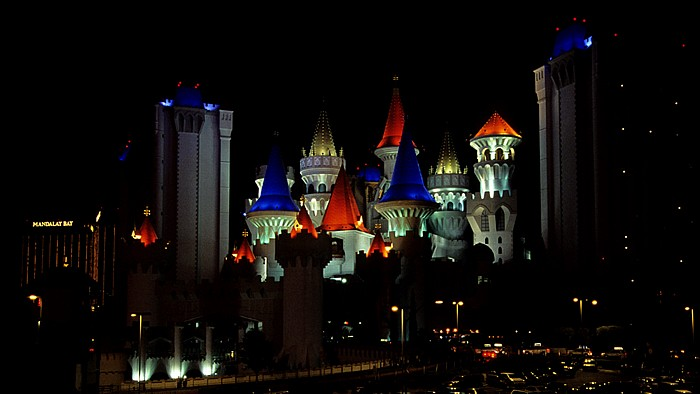 Las Vegas Strip: Excalibur Hotel Mandalay Bay Resort and Casino