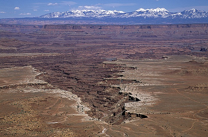 Canyonlands National Park Island in the Sky: White Rim, Buck Canyon