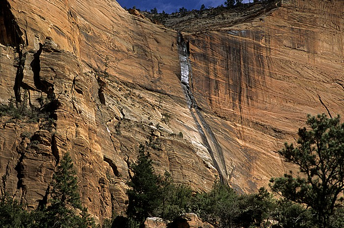Wasserfall Zion National Park
