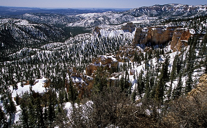Bryce Canyon National Park Blick vom Farwiew Point