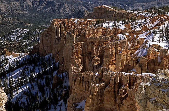 Bryce Canyon National Park Blick vom Rainbow Point