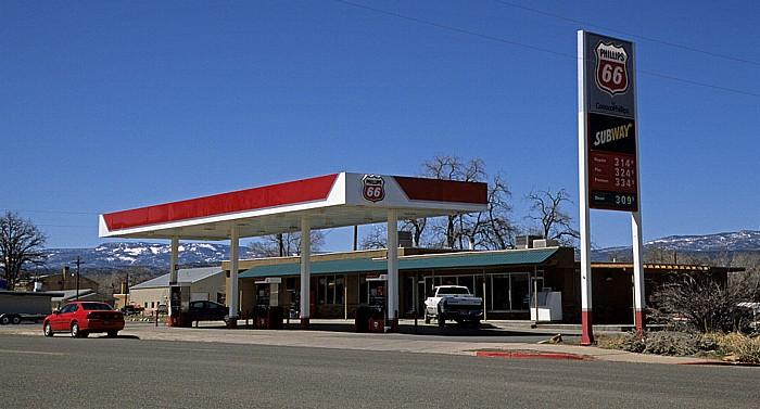 Escalante Tankstelle an der Utah State Route 12