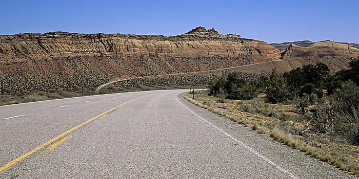 San Juan County Utah State Route 95 Comb Wash