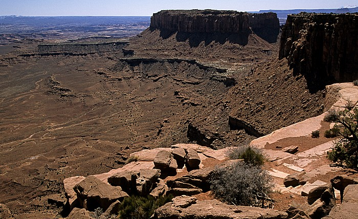 Canyonlands National Park Island in the Sky: Blick vom Grand View Point