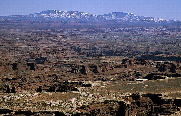 Canyonlands National Park Island in the Sky: Blick vom Grand View Point: Stillwater Canyon (Green River)
