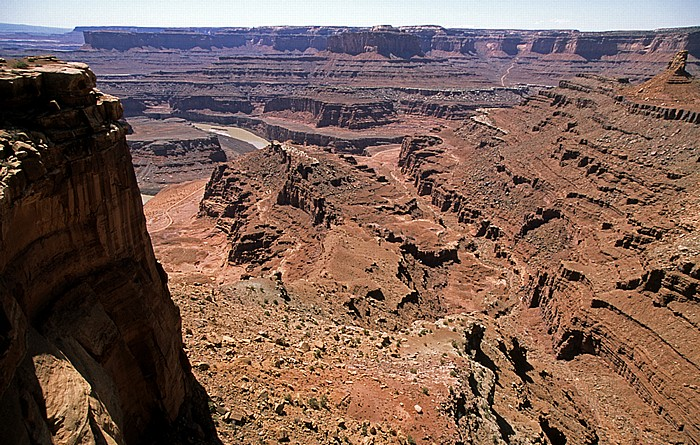 Dead Horse Point State Park Blick vom Dead Horse Point Overlook: Meander Canyon (Colorado River)