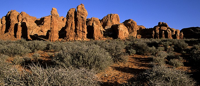 Arches National Park Rock Pinnacles