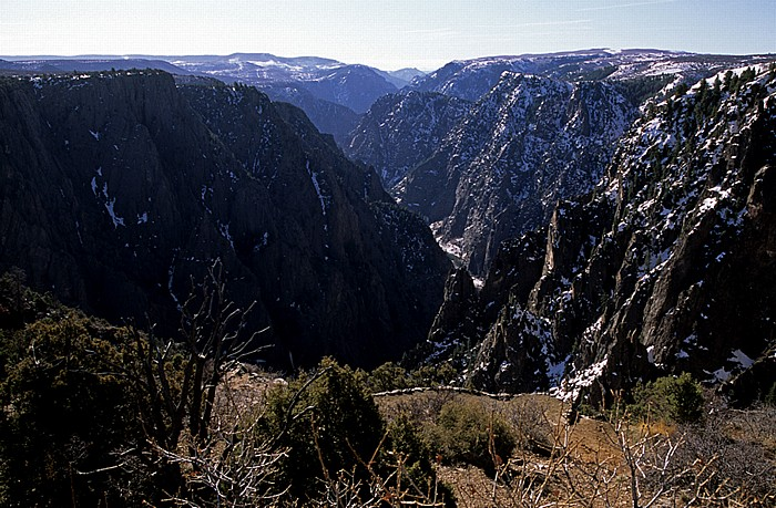 Black Canyon of the Gunnison National Park Blick vom Tomichi Point