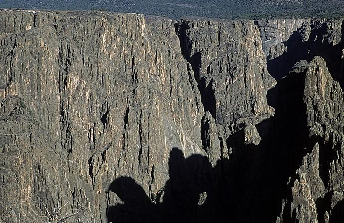 Black Canyon of the Gunnison National Park Blick vom Gunnison Point