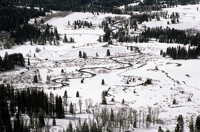 Rocky Mountains U.S. Route 160 zwischen Durango und Wolf Creek Pass