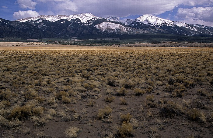 San Luis Valley Sangre de Cristo Mountains (Rocky Mountains)