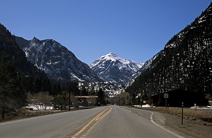 Ouray County: U.S. Route 550 Rocky Mountains