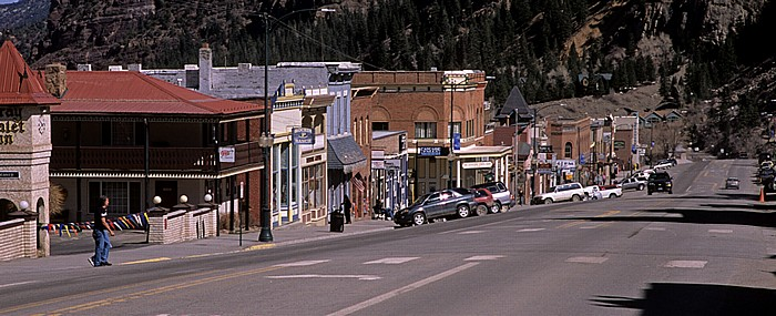 Ouray National Historic District: Main Street