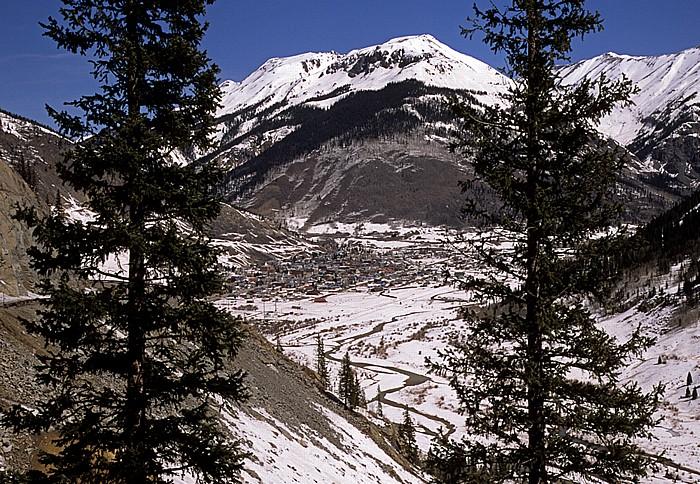 Million Dollar Highway (U.S. Route 550): Silverton Rocky Mountains