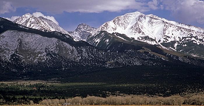 Sangre de Cristo Mountains (Rocky Mountains) San Luis Valley