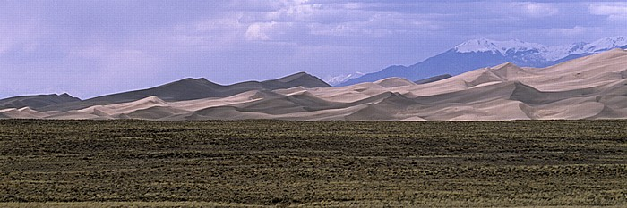 Great Sand Dunes National Park Great Sand Dunes, Sangre de Cristo Mountains (Rocky Mountains)