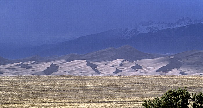 Great Sand Dunes, Sangre de Cristo Mountains (Rocky Mountains) Great Sand Dunes National Park