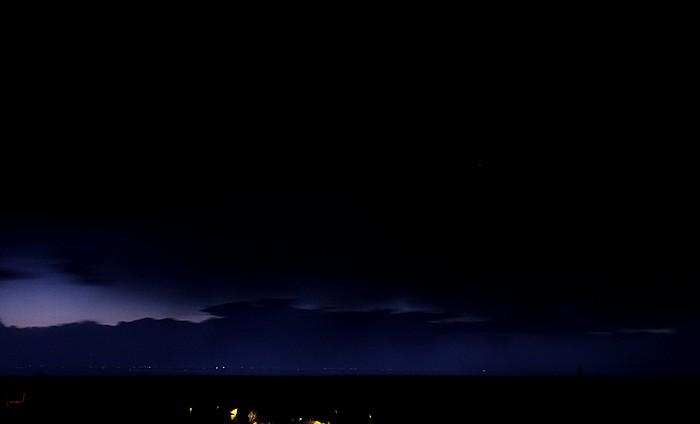 San Luis Valley Gewitterfront