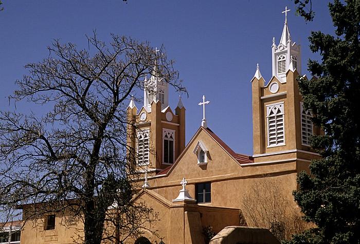 Albuquerque Old Town Plaza: San Felipe de Neri Church