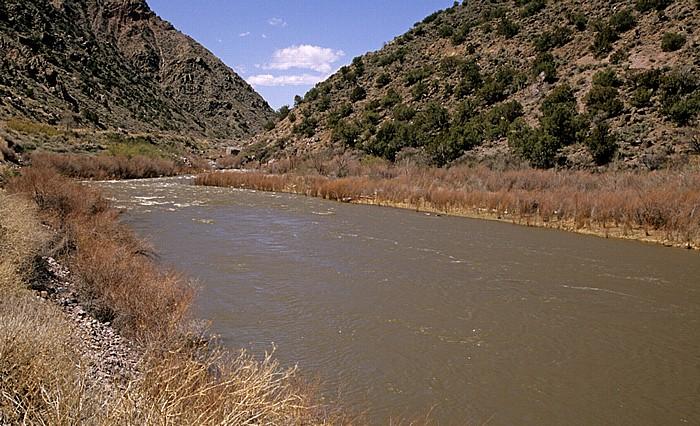 Taos County Cañon del Rio Grande
