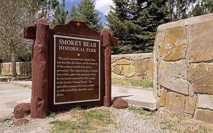 Capitan Smokey Bear Historical Park