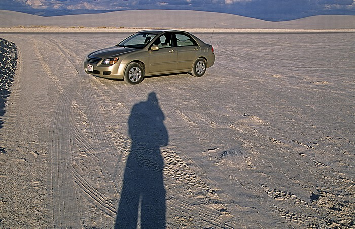 Mietwagen White Sands National Monument