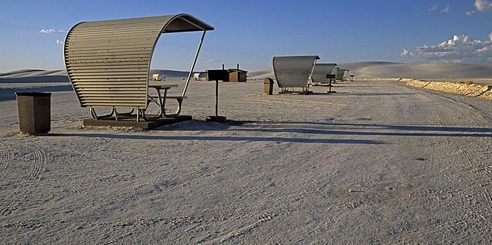 Park- und Rastplatz White Sands National Monument