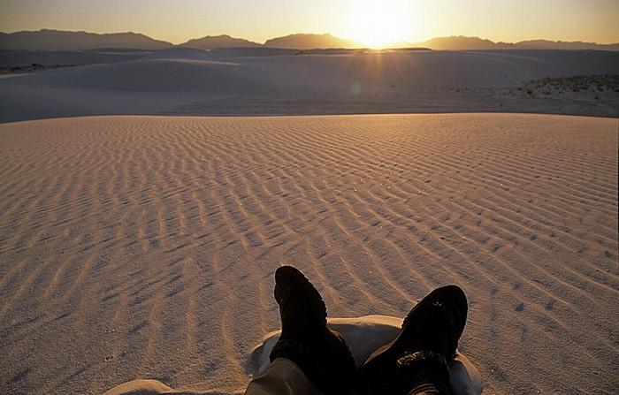 Sanddünen White Sands National Monument