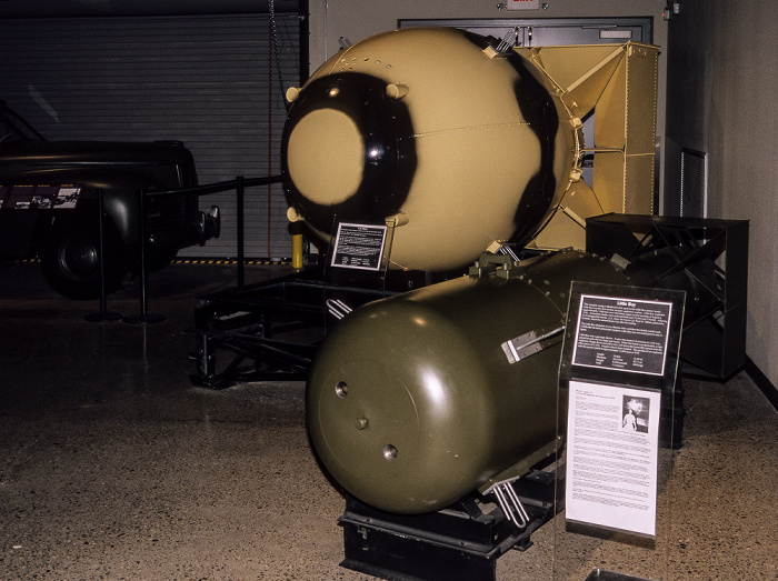 Albuquerque National Museum of Nuclear Science & History: Ausstellung Decision to Drop - Fat Man