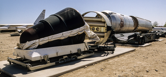 Albuquerque National Museum of Nuclear Science & History: Heritage Park - Titan II