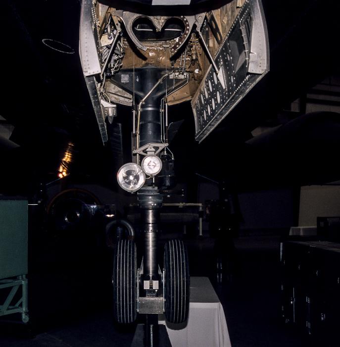 Tucson Pima Air & Space Museum: Spirit of Freedom Hangar - Lockheed SR-71 Blackbird