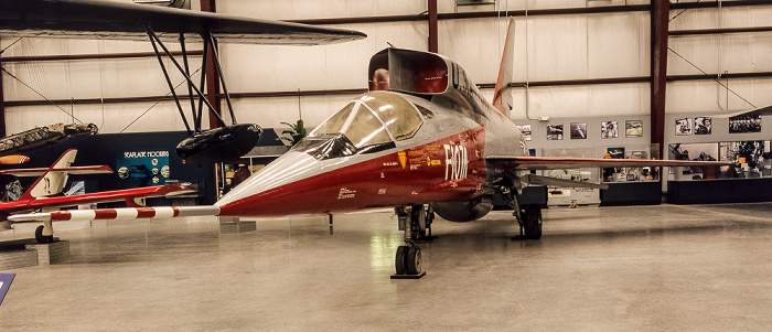 Tucson Pima Air & Space Museum: Spirit of Freedom Hangar - North American F-107A