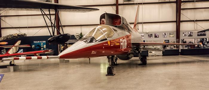 Tucson Pima Air & Space Museum: Spirit of Freedom Hangar - North American F-107A