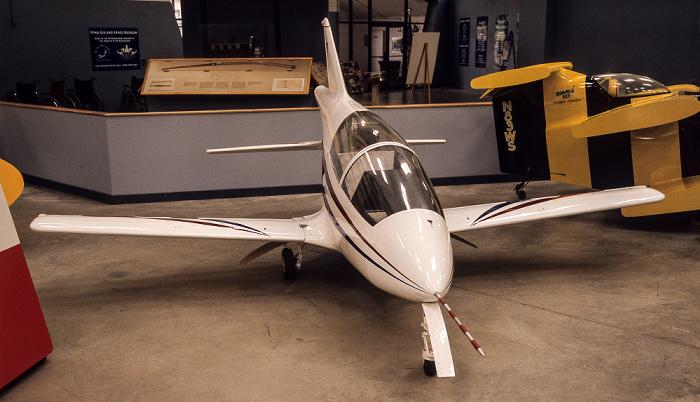 Tucson Pima Air & Space Museum: Hangar #1 - Bede BD-5 Micro