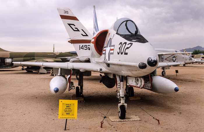 Tucson Pima Air & Space Museum: Douglas A-4D2 Skyhawk