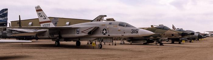 Tucson Pima Air & Space Museum: North American A-5C Vigilante