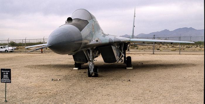 Tucson Pima Air & Space Museum: Mikoyan MiG-29 Fulcrum-A