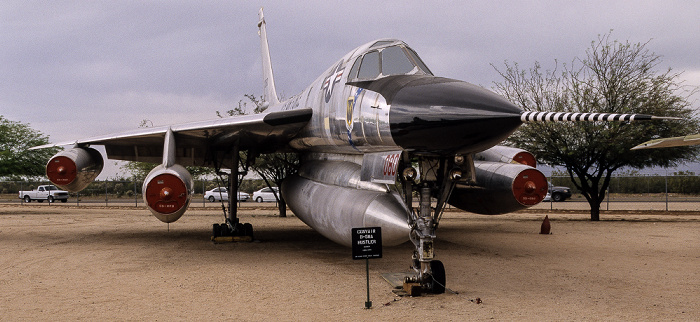 Tucson Pima Air & Space Museum: Convair B-58 Hustler