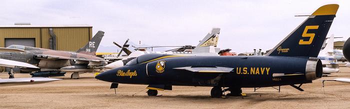 Tucson Pima Air & Space Museum: Grumman F-11A Tiger