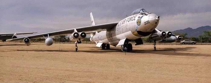 Tucson Pima Air & Space Museum: Boeing EB-47E Stratojet