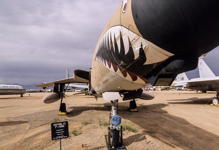 Tucson Pima Air & Space Museum: Republic F-105G Thunderchief