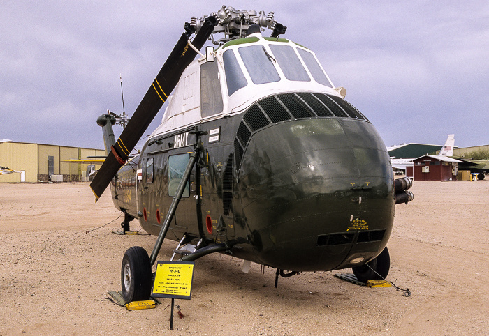 Tucson Pima Air & Space Museum: Sikorsky VH-34C