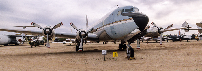 Tucson Pima Air & Space Museum: Douglas VC-118A Liftmaster