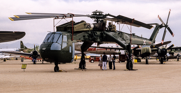 Tucson Pima Air & Space Museum: Sikorsky CH-54A Tarhe