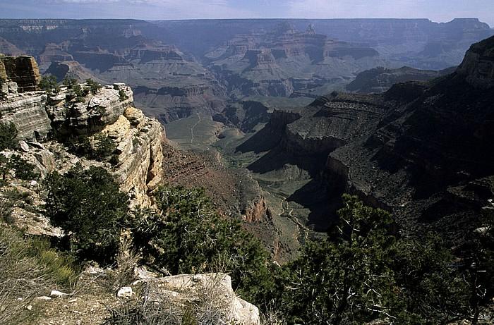 Grand Canyon National Park South Rim, Grand Canyon, North Rim Bright Angel Canyon