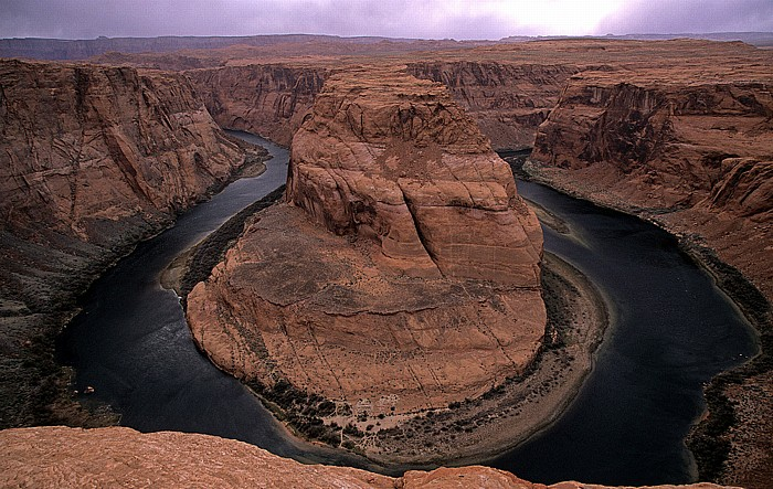 Coconino County Horseshoe Bend mit Colorado River