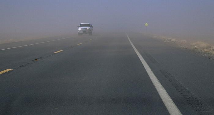 Coconino County U.S. Route 89 (nördlich von Cameron): Sandsturm