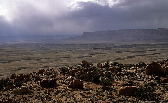 Antelope Pass Blick vom Kaibito Plateau auf das Kaibab Plateau